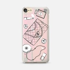 iPod Touch 6 Case Pink Chanel Love