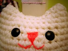 Alma Mishto by Cora King: Gato Mishto Sewing Patterns, Crochet Patterns, Crochet Ideas, Cat Crafts, Learn To Crochet, Textile Art, Free Crochet, Purses And Bags, Textiles