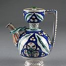 Coffee pot and cover Date: ca. 1888 (made) Place: Florence Artist/maker: Figli di Giuseppe Cantagalli