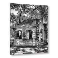 Steven Ainsworth 'Old Well House' Gallery-Wrapped Canvas