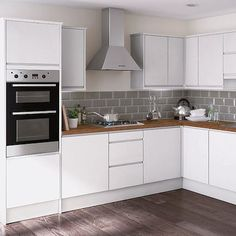 glossy white kitchen - Google Search