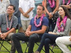 Peter, Alex, Michelle  ♥ Season 3 blessing ceremony