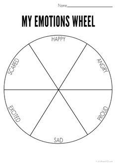 Feelings wheel