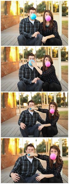 Gender reveal idea.
