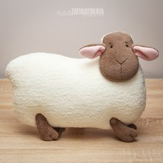 Пробная коллекция овечек - символов 2015 года! :: Красивые Игрушки Затинацкой Натальи