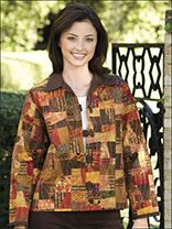 Stack & Cut Squares Jacket Pattern keeps moving around on that site but you can search for Stack & Cut Squares Cut Jacket