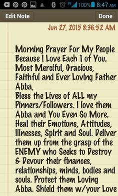I pray foe each 1 in Jesus Name, Amen. Pt. 1 of 1 With the POWER & Strength of Your ALMIGHTY SOVEREIGN LOVE