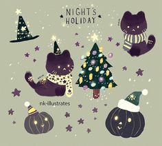 NKim Story Blog: NIGHT'S HOLIDAY