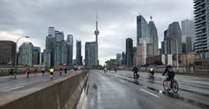 Urban highways could be giant bike paths in the sky : TreeHugger