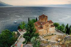 Kaneo landscape, Ohrid Macedonia