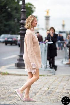 Elizabeth von Guttman Street Style Street Fashion by STYLEDUMONDE Street Style Fashion Blog
