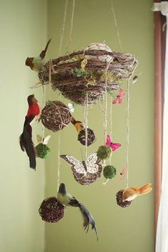 Bird themed nursery