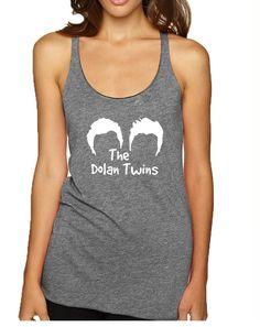 1b7930625f4c7 Women s Tank Top The Dolan Twins Cool Trendy TShirt