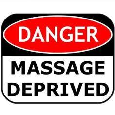 friends don't let friends become massage deprived!