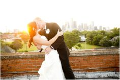 Dallas wedding photographer, downtown dallas wedding photo ideas, sunset wedding pictures, bride and groom wedding picture ideas, Yellow & Black Wedding   Off the Grid   Dallas » Mary Fields Photography