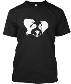Great Gift For Dog Person   Dog Tshirt Black áo T-Shirt Front