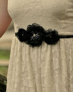 Belt bridal sash...