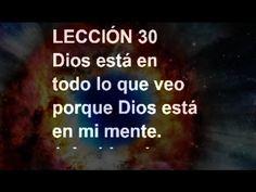 LECCIÓN 30 - Libro de Ejercicios. Un Curso de Milagros #ACIM #UCDM #UnCursoDeMilagros #ACourseInMiracles #Spanish #Español #Audiolibro https://youtu.be/3GpNSJ24v_w