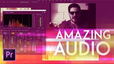 How to Get Amazing Audio in Premiere Pro 2017 (New Audio Effects) Advanc. Adobe Audition Tutorial, Photoshop Tutorial, Photoshop Course, Adobe Photoshop, Audio Post Production, Film Tips, Creative Suite, Adobe Premiere Pro, Social Icons