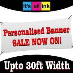 PVC BANNER FOOTBALL SPORTING EVENTS CUSTOM PERSONALISED HIGH QUALITY BANNERS