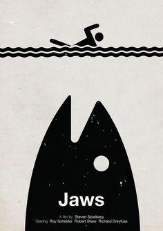 Viktor Hertz Pictogram movie posters Jaws