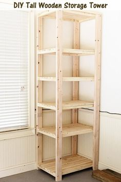 One can never have too much storage space, especially in the garage, which is where this shelving unit was designed for. The spacing between a few of the shelves is tall enough for big storage tubs to fit into, and it's tall – 8 feet tall. Vertical storage takes up less room than spreading out horizontally, …