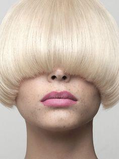 Hair & Beauty by Cyril Lagel, via Behance