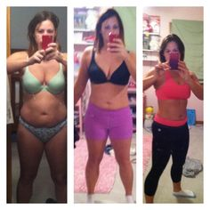 Real results from turbo jam!! This is 2 MONTHS it's me!! Emily Ozier
