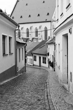 Znojmo Central Europe, Czech Republic, Prague, German, Castle, Sketch, Places, Travel, The Streets