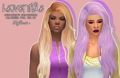 Slythersim: Stealthic's Heaventide & Vanity Clayified  - Sims 4 Hairs - http://sims4hairs.com/slythersim-stealthics-heaventide-vanity-clayified/