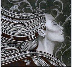 POLYNESIAN ART  Artist: Denis Mata'afa