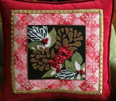 Holiday Pinecones Stitch Guide H216