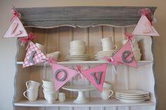 Valentines Love Banner | The Wood Connection Blog | Bridgey Widgey