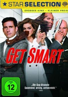 Get Smart  2008 USA      Jetzt bei Amazon Kaufen Jetzt als Blu-ray oder DVD bei Amazon.de bestellen  IMDB Rating 6,6 (108.848)  Darsteller: Steve Carell, Anne Hathaway, Alan Arkin, James Caan, Bill Murray,  Genre: Action, Adventure, Comedy,  FSK: 12