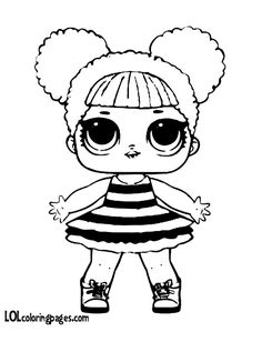 Queen Bee Coloring Page Lotta LOL jazzie 7th birthday