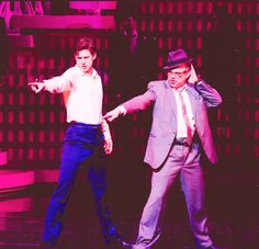 Catch me if you can Aaron Tveit and Norbert Leo Butz