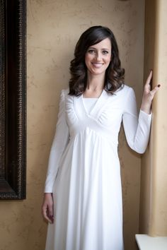 Temple dress, Temples and Soft fabrics on Pinterest