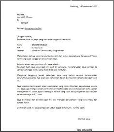 Contoh Surat Pengajuan Permohonan Contoh Surat Permohonan Stuff