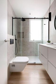 Bathroom Design Luxury, Bathroom Design Small, Bathroom Interior, Modern Bathroom, Bathroom Goals, Laundry In Bathroom, Home Room Design, House Design, Toilet Design