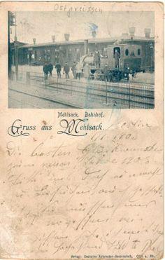 AK 1903 Mehlsack Pieniężno Ostpreußen Braunsberg Bahnhof Ermland Masuren Polen de.picclick.com
