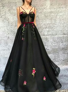 Plus Size Prom Dress, 2018 A Line Prom Dress Black Cheap Long Prom Dress Shop plus-sized prom dresses for curvy figures and plus-size party dresses. Ball gowns for prom in plus sizes and short plus-sized prom dresses Unique Prom Dresses, Black Prom Dresses, A Line Prom Dresses, Tulle Prom Dress, Pretty Dresses, Sexy Dresses, Homecoming Dresses, Dress Up, Dress Black