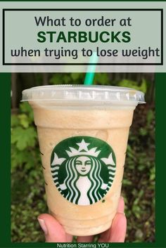 What to Order at Starbucks When Trying to Lose Weight. Includes suggestions for food and drinks via Get my cheat sheet for what to order at Starbucks when trying to lose weight. Find recommendations for breakfast, lunch, Frappuccinos and coffee drinks, Café Starbucks, How To Order Starbucks, Starbucks Secret Menu, How To Order Coffee, Starbucks Recipes, Coffee Recipes, Starbucks Hacks, Drink Recipes, Smoothie Recipes