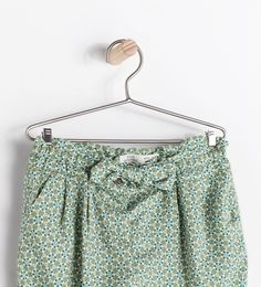 ZARA - SALE - EMBROIDERED DRAWSTRING TROUSERS