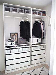 *Kaupallinen yhteistyö IKEA Kun olimme asuneet vasta vähän aikaa tässä talossa, esittelin innoissani toteutuneen unelmani vaatehuon...