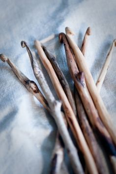 Jen from @Lavendilly House says : totally forgot about this! I used to carve them from chop sticks but i think the twigs are much nicer, although perhaps harder to hold!