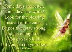 Be positive quote via My Cheery Corner page on Facebook