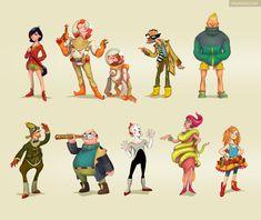 character design - Buscar con Google