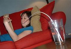 A selection of funny photos of lazy people (15 Pics)