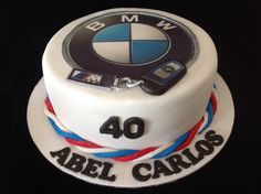 BMW cake... Made by www.bellalicious.co.za