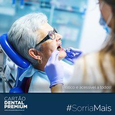 """#SORRIAMAIS com o Cartão Dental Premium: """"PRÁCTICO E ACESSÍVEL A TODOS!"""" ----- SAIBA TUDO EM http://cartaodentalpremium.com/#comoaderir > 800 CAR TAO / 800 227 826 #SwissDentalHealthPlans #CartãoDentalPremium #CartãoDeSaúde #Clínica #Implantes #Dentista #SorriaMais"""